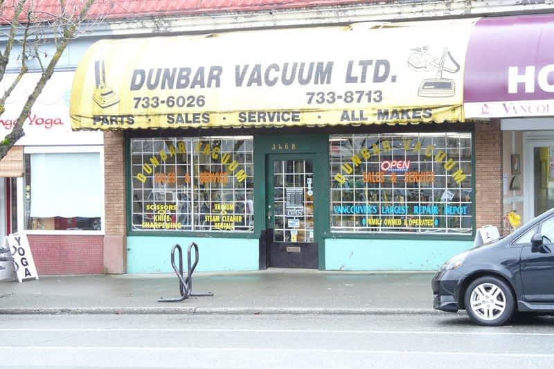 photo Dunbar Vacuum (1989) Ltd