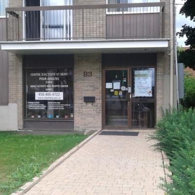 Centre D'Activite Et De Repit Pour Adultes Inc - Centres de loisirs - 450-486-4722