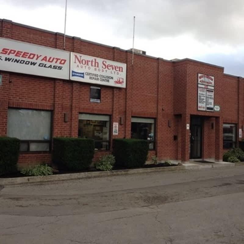 North Seven Autobody Ltd Concord On 145 Rivermede Rd