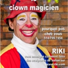 Cloune Magicien Riki - Clowns