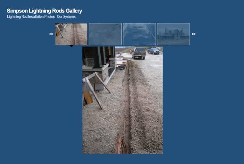 photo Simpson Lightning Rods