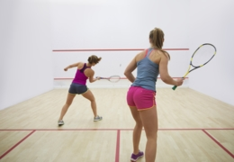 Raise a racquet at these squash courts in Toronto