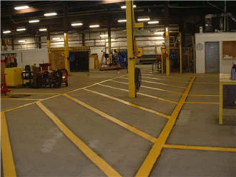 photo Industrial Painting & Line Marking