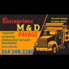 Les entreprises M et D - Entrepreneurs en pavage