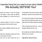 Redline Legal Services Professional Corporation - Paralegals