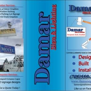 Damar Sign & Lighting - Opening Hours - ON