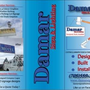 Damar Sign & Lighting - Opening Hours - ON