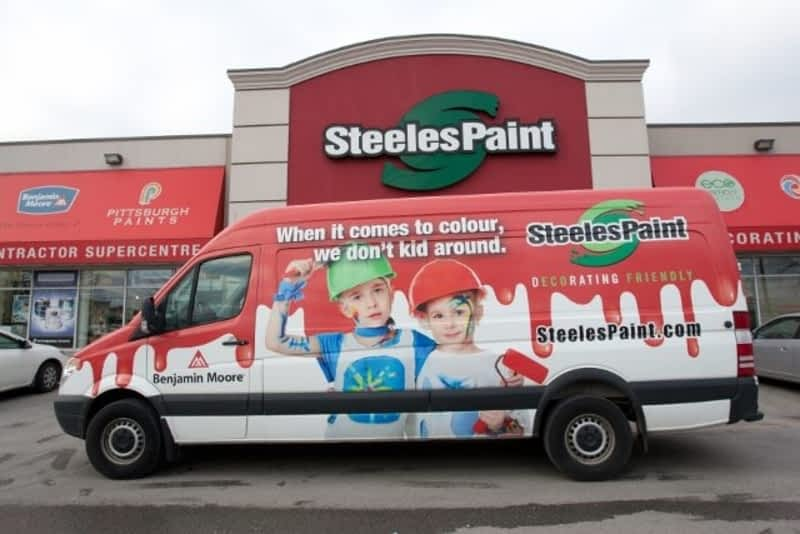 Steeles Paint Amp Decorating Centre Woodbridge On 4190