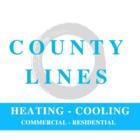 County Lines HVAC & Fireplaces - Logo