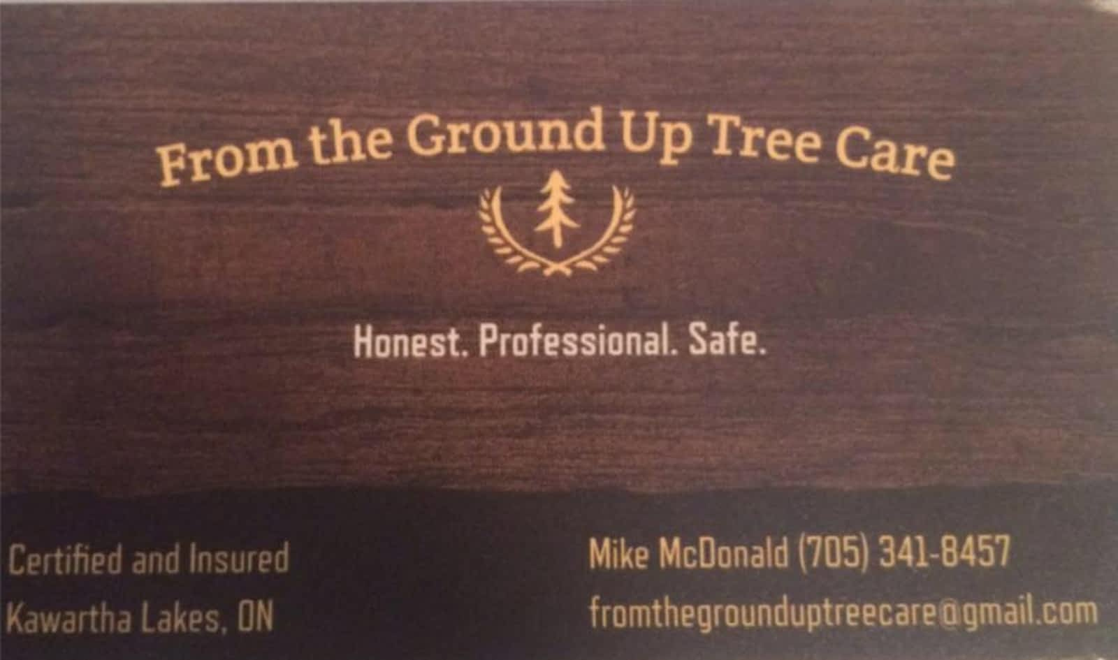 From The Ground Up from the ground up tree care - opening hours - lindsay, on