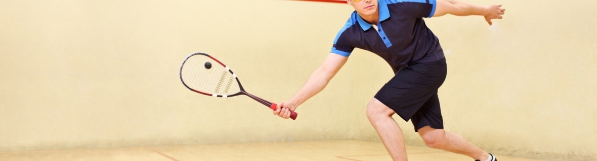 Take a swing at these Calgary squash and racquetball courts