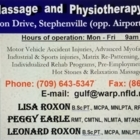 Gulf Massage & Physiotherapy - Physiothérapeutes