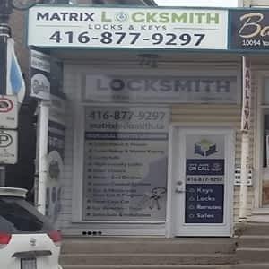 Matrix Locksmith - Opening Hours - 10094 Yonge St, Richmond Hill, ON