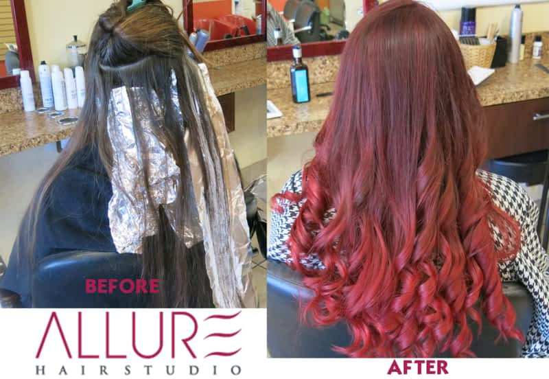 Allure hair studio calgary ab 3407 20 st sw canpages for Allure hair salon