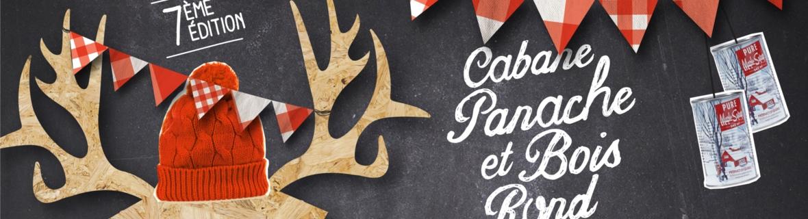 Enjoy Montreal's Cabane Panache et bois rond 2017