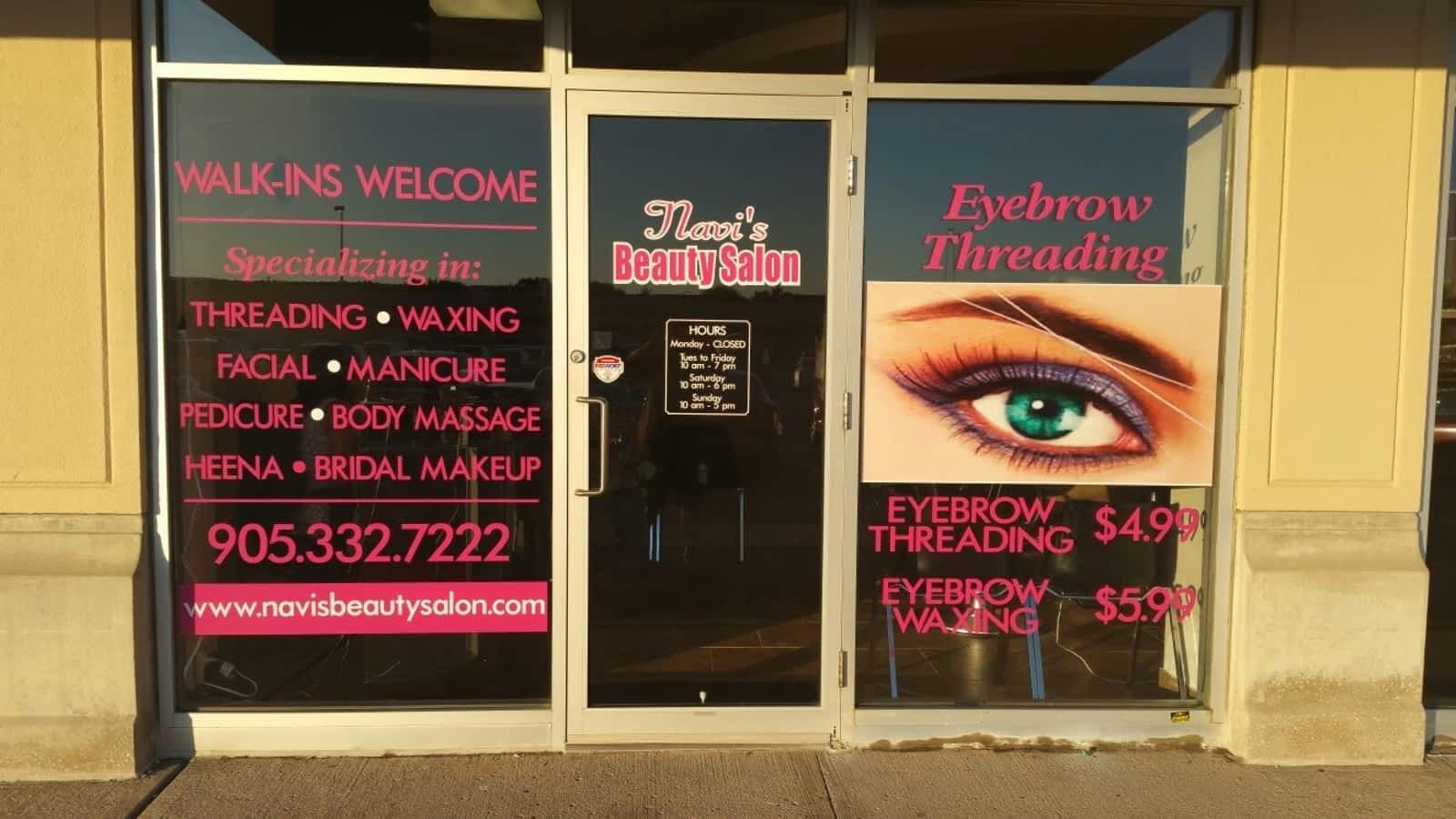 Navis Beauty Salon Opening Hours 3650 Dundas St Burlington On