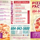 Pizza Factory - Italian Restaurants - 604-943-5600