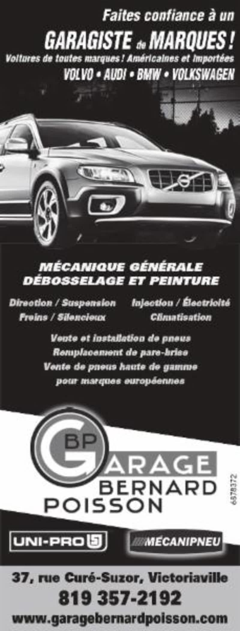 Garage bernard poisson victoriaville qc 37 rue du for Cash piscine cuers