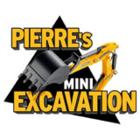 Pierre's Mini Excavation - Logo