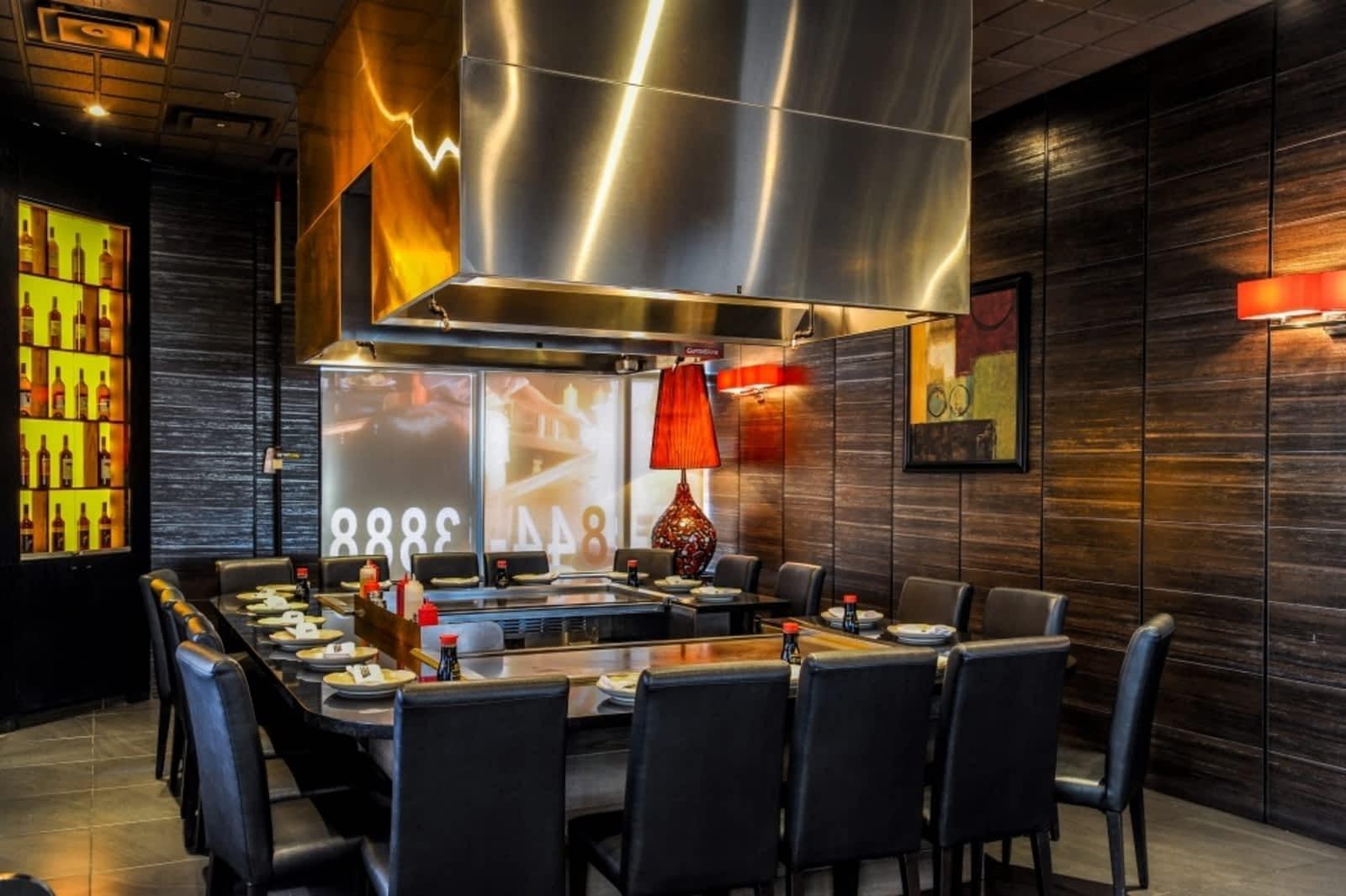 Hibachi Teppanyaki Bar Oakville Menu Hours Reservation - Hibachi table restaurant
