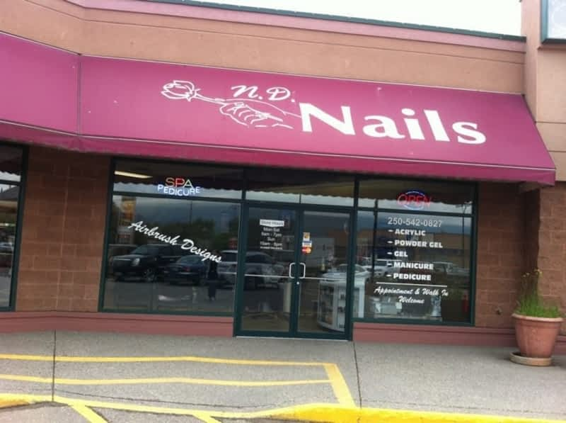 Nd nails vernon bc 105 5301 25 ave canpages for Vernon salons